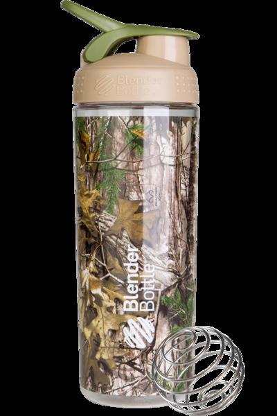 Спортивна пляшка-шейкер BlenderBottle SportMixer Sleek 28oz/820ml Real Tree