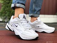 Кросівки чоловічі в стилі Nike M2K Tekno білі з чорним, фото 1