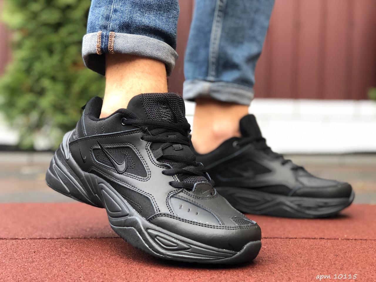 Кросівки чоловічі в стилі Nike M2K Tekno чорні