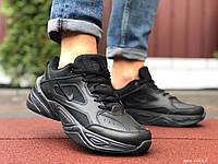 Кросівки чоловічі в стилі Nike M2K Tekno чорні, фото 1