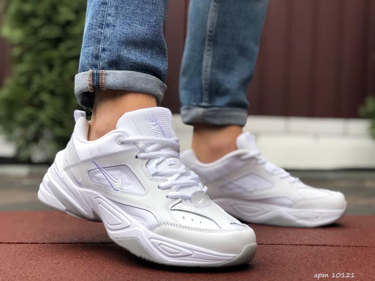 Кросівки чоловічі в стилі Nike M2K Tekno білі
