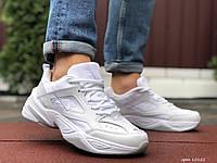 Кросівки чоловічі в стилі Nike M2K Tekno білі, фото 1