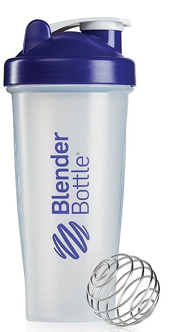 Шейкер спортивний BlenderBottle Classic 28oz/820ml прозорий фіолетовий (ORIGINAL)