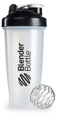 Шейкер спортивний BlenderBottle Classic 28oz/820ml прозорий/чорний (ORIGINAL)
