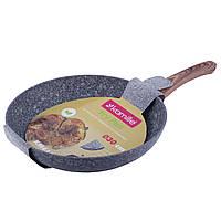 Сковорода Kamille 30см с антипригарным покрытием PTFE из алюминия для индукции и газа KM-4164, фото 1