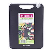 Доска разделочная Kamille 29,6х22,4х0.8см пластиковая KM-10076, фото 1