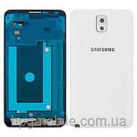 Корпус для Samsung Galaxy Note 3 N9000, белый, оригинал
