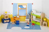 Набор для кукол goki Мебель для детской комнаты 51746G (JN6351746G)