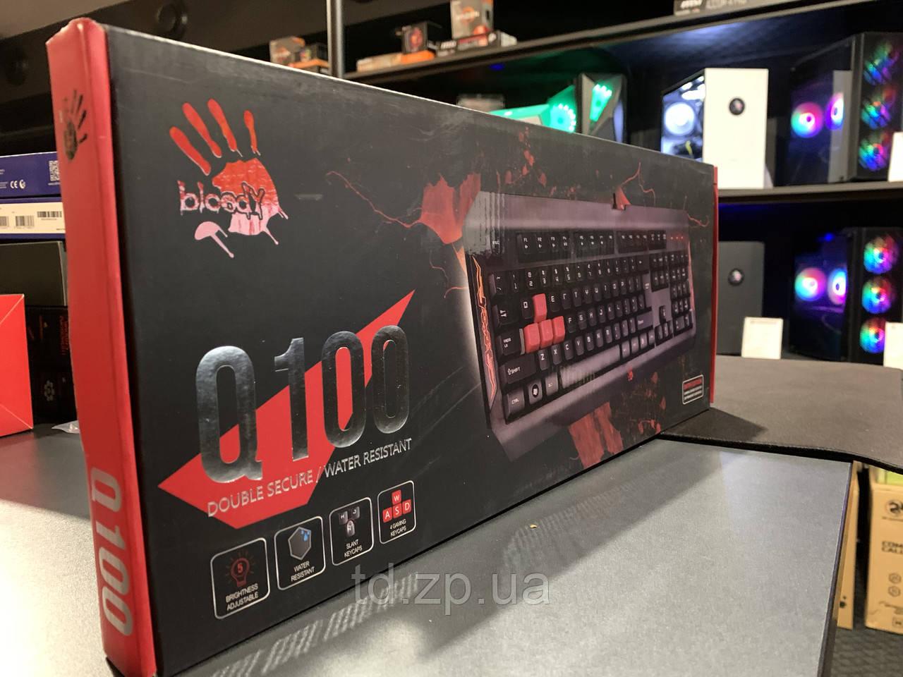 Клавиатура проводная Bloody Q100 USB
