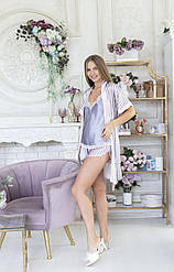 Комплект пижама + халат для беременных  Celebrity