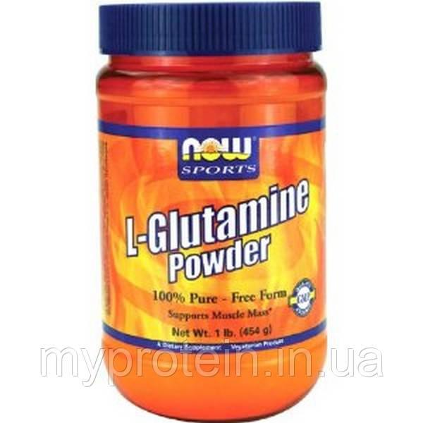 NOW Глютамин L-Glutamine Powder (454 g)