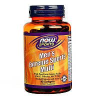 NOW Мужские витамины Men's Extreme Sports Multi (90 softgels)