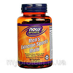 NOW Мужские витамины Men's Extreme Sports Multi (90 caps)