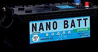 Аккумулятор NANO BATT  Premium - 205 (евробанка) (1400 пуск) 2018