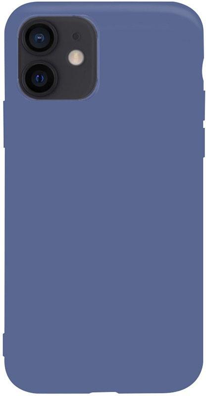 Чохол-накладка TOTO 1mm Matt TPU Case Apple iPhone 12 Mini Navy Blue #I/S