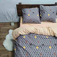 Комплект постельного белья двуспальный Чешуя дракона бязь