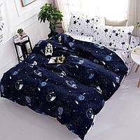 Комплект постельного белья двуспальный Космополис бязь
