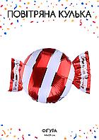 Фольгированная конфета красная 44х59см