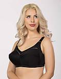 Бюстгальтер без косточек больших размеров женский, бежевый, фото 5