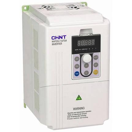 Преобразователь частоты NVF2G-1.5/TS4, 1.5кВт, 380В 3Ф, общий тип, Chint, фото 2