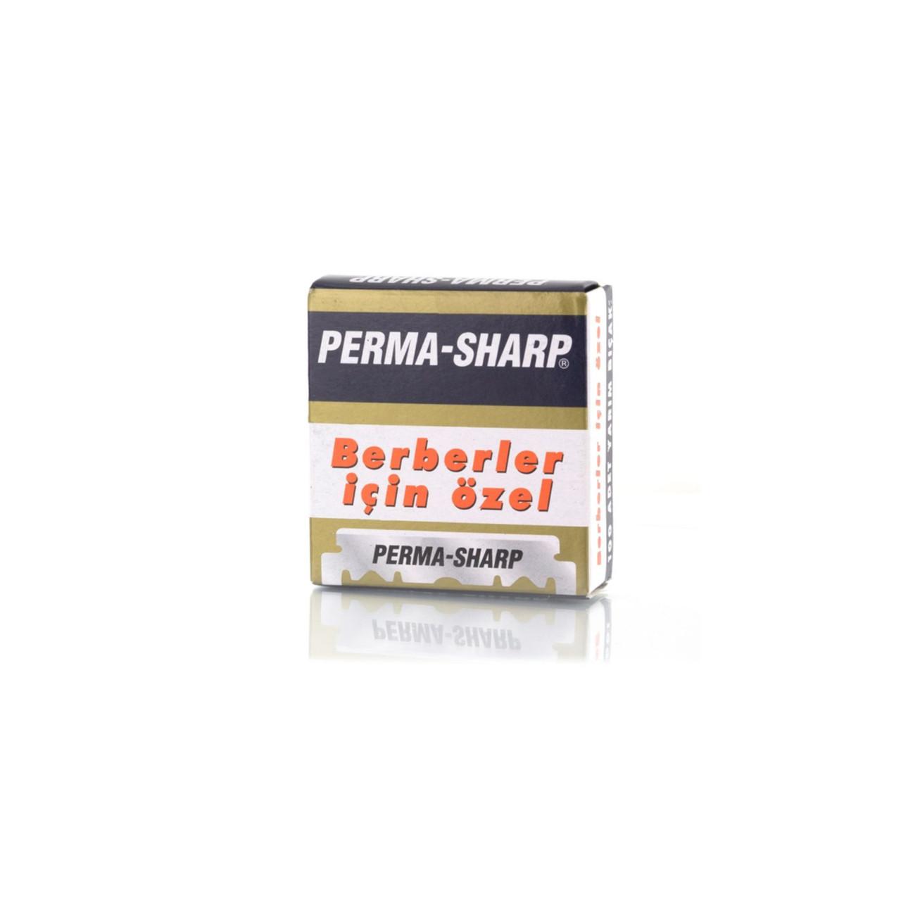 Лезвия половинки для опасной бритвы Perma-Sharp Super 100шт