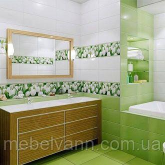 Коллекция для стен Yalta зеленый 20*50 Ялта