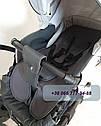 Детская коляска 2 в 1 Classik (Классик) Victoria Gold эко кожа, фото 4