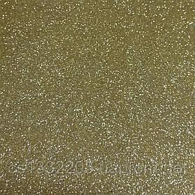 Фоаміран блискучий (світле золото) 20*30см
