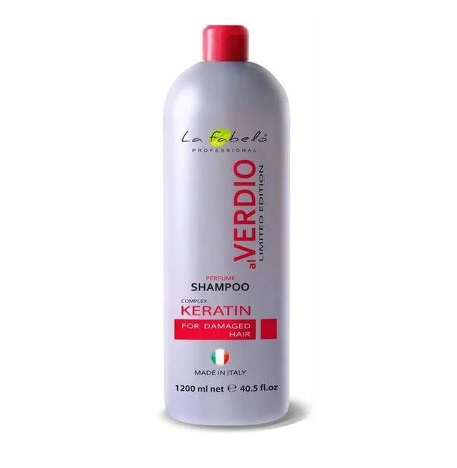 Профессиональные шампуни с кератином цена от La Fabelo