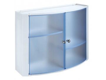 Шкаф в ванную комнату Prima Nova, голубой (8423)