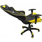 Кресло геймерское Bonro 2018 желтое, фото 3