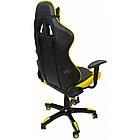 Кресло геймерское Bonro 2018 желтое, фото 5