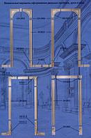 Возможные варианты оформления дверных проемов, арок и ниш