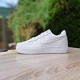 Мужские кроссовки в стиле Nike Air Force белые, фото 7
