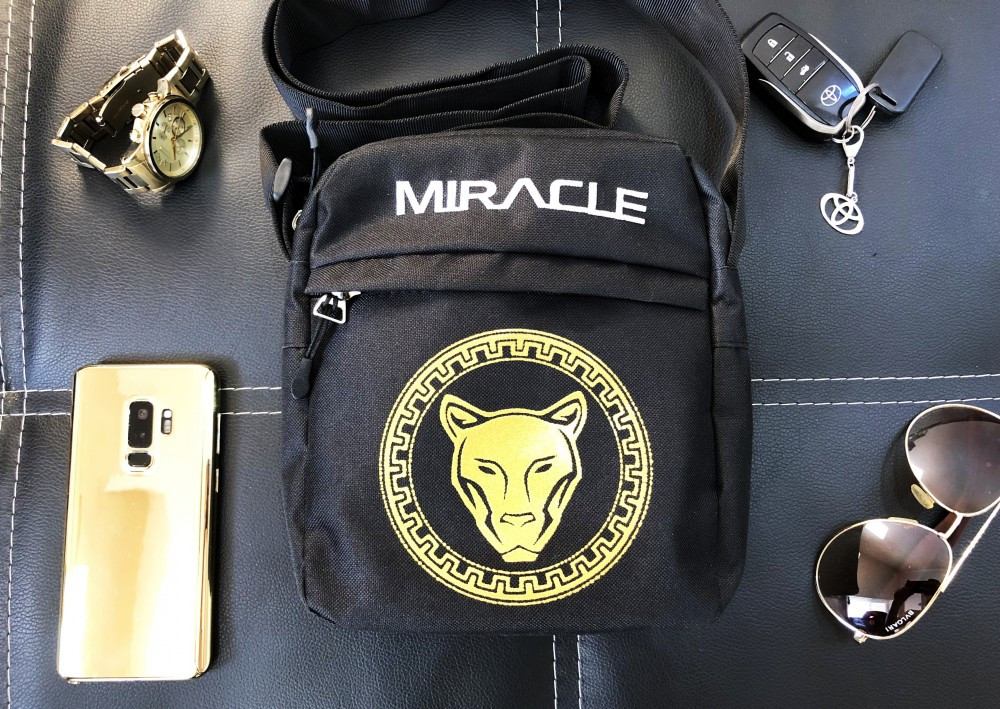 Месенджер Miracle - early Gold/white