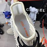 Off White x Adidas Yeezy 350 V2 Cream White, фото 8