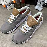 Adidas Sharks Brown Grey White, фото 2