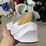 Adidas Sharks Brown Grey White, фото 5