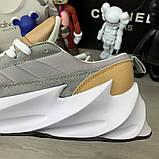 Adidas Sharks Brown Grey White, фото 7