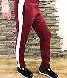 Женские штаны Slim Fit burgundy, фото 2