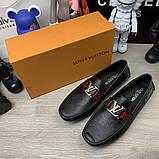 Мокасины Louis Vuitton Monte Carlo Black, фото 5