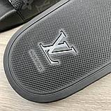Louis Vuitton Waterfront Slide Sandals Monogram Eclipse, фото 9