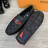 Мокасины Louis Vuitton Hockenheim Damier Infini, фото 6