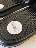 Balenciaga Slide Sandal Logo Black, фото 3