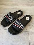 Balenciaga Slide Sandal Logo Black, фото 6