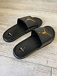 Jordan Slide Sandal Logo Gold/Black, фото 2