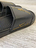 Jordan Slide Sandal Logo Gold/Black, фото 4