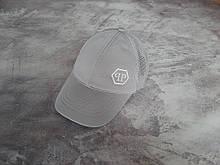 Серая кепка Philipp Plein (Филипп Плейн)