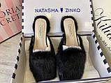 Natasha Zinko Slippers Pantera Black, фото 5