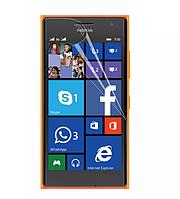 Гидрогелевая пленка для Nokia Lumia 540 (противоударная бронированная пленка) Gold